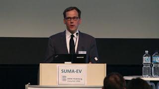Dirk Lewandowski beim SUMA-Kongress an der HAW Hamburg
