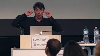 Arkady Borkovsky beim SUMA-Kongress an der HAW Hamburg