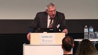 Christian Grugel beim SUMA-Kongress an der HAW Hamburg